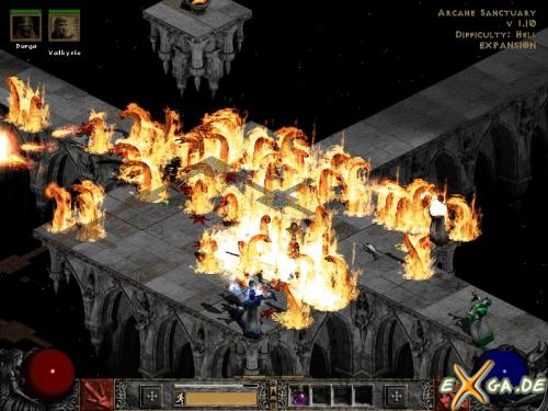 arcane santuary Screenshot/ Wallpaper zu Diablo 2 - eXga.de