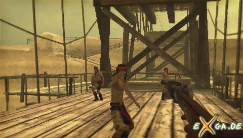 Gun showdown - GUN Showdown - Gunfight on the brdige