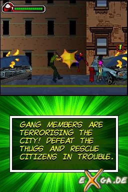 SpiderMan: Battle for New York - NDS_Spidey 2
