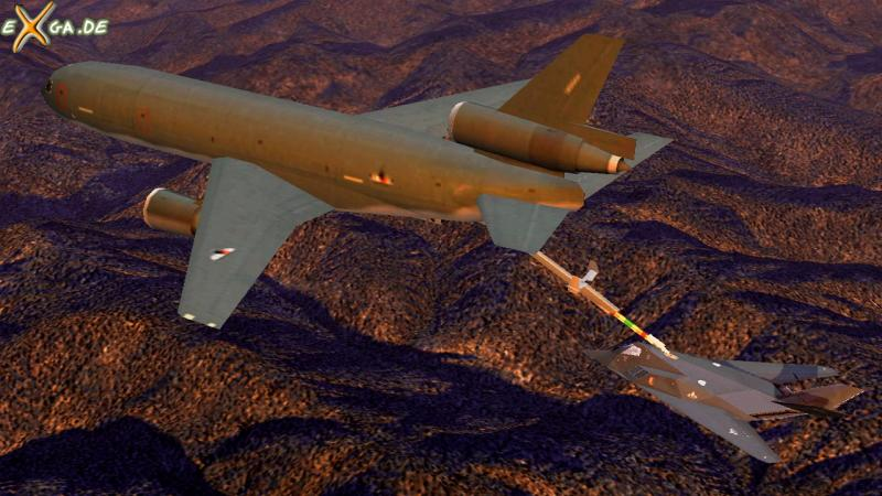 Ace Combat 5: The Belkan War - Aerial refueling_F-117A_16-9_01