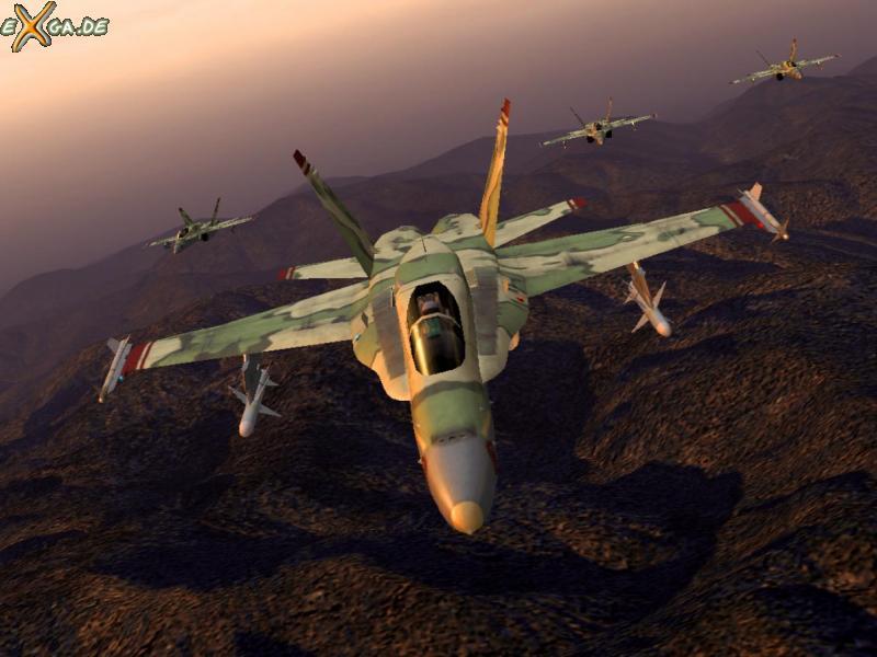 Ace Combat 5: The Belkan War - FA18C_formation_06