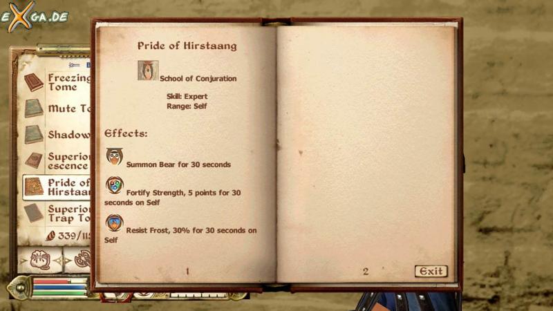The Elder Scrolls 4: Oblivion - TES4-SpellTomes02