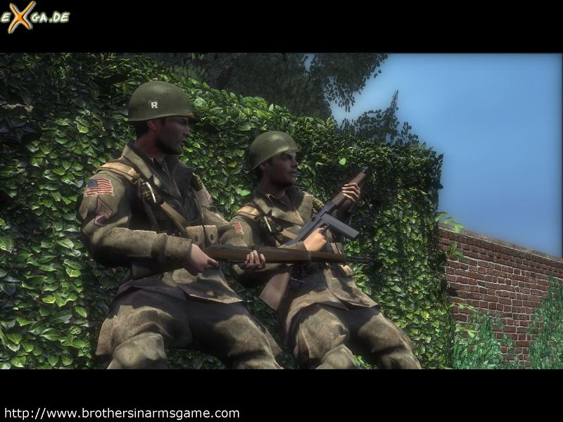 Brothers in Arms: Hell`s Highway - Baker_Corrion_wall