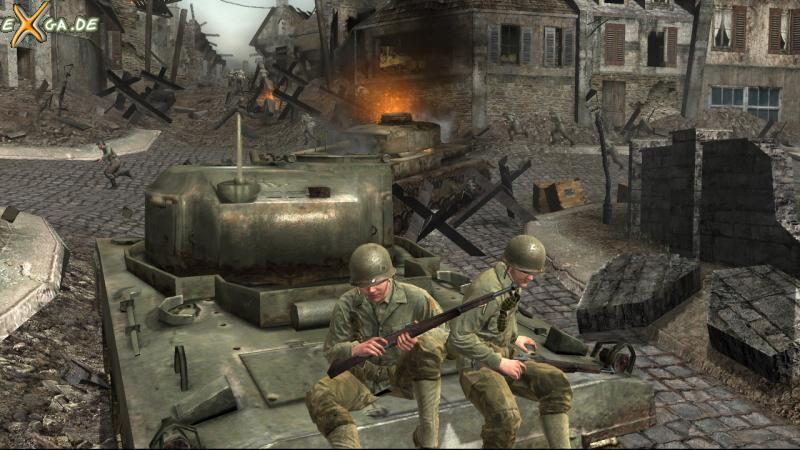 Call of Duty 3 - St. Lo - Tank Ride