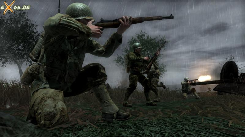 Call of Duty 3 - The Island - Kneeling Position