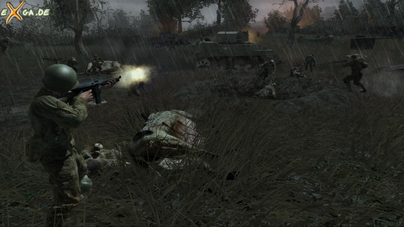 Call of Duty 3 - The Island - Trusty Thompson