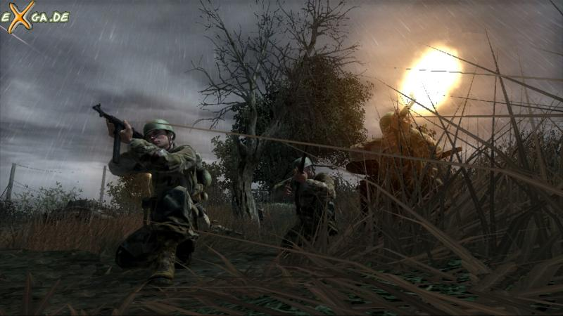 Call of Duty 3 - Xbox360 - The Island - Troopers