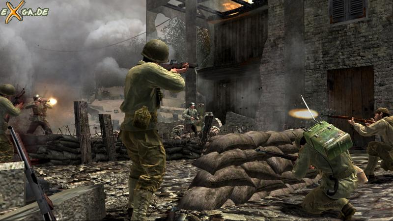 Call of Duty 3 - Xbox360 - Fury of Battle