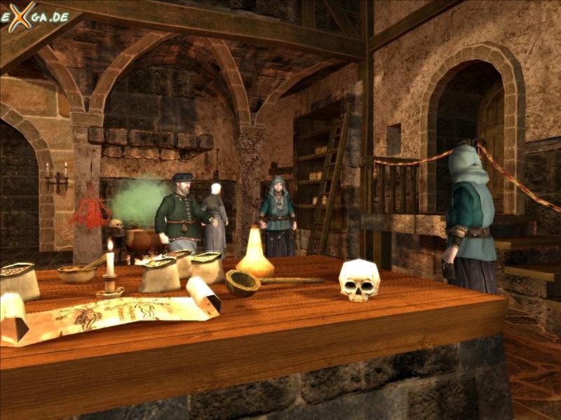 The Guild 2 - InDerAlchimistenstube_02