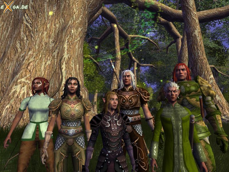 Vanguard: Saga of Heroes - Wood Elf diversity