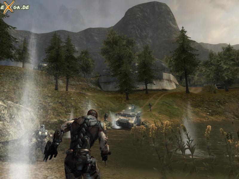 Enemy Territory: Quake Wars - Schlacht am Fluss
