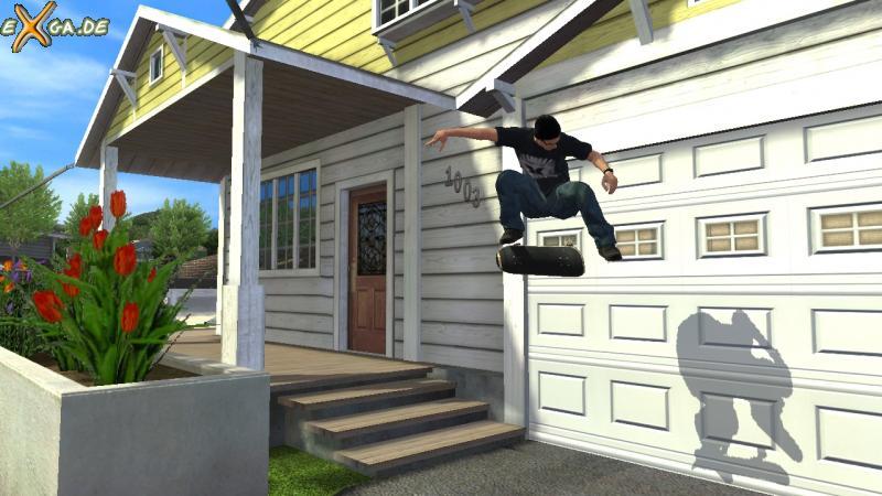 Tony Hawk's Project 8 - heelflip_bob_houses