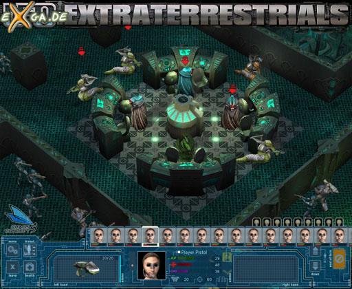 UFO: Extraterrestrials - alien center