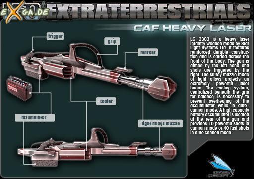 UFO: Extraterrestrials - heftiger laser