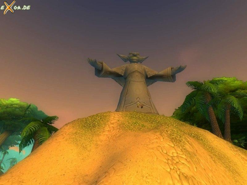 World of Warcraft - WoW Goblinstatue