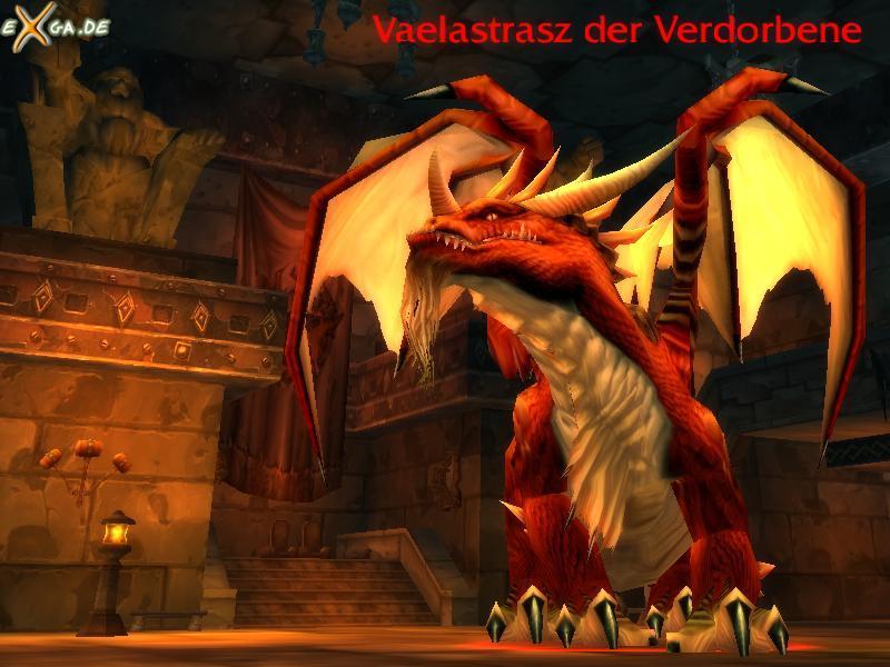 World of Warcraft - WoW-BWL02-Vaelastrasz